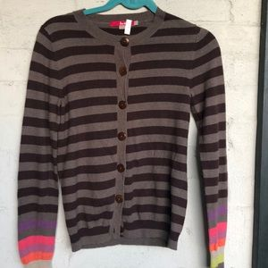 Boden striped wool cardigan
